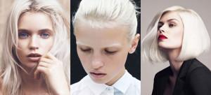 blond platinat
