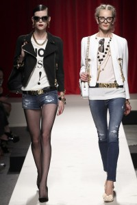 Tendinte rock Moschino